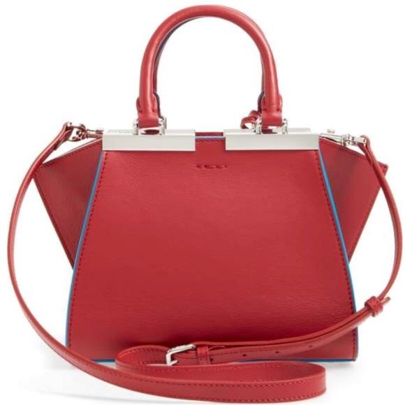 5af2fcdf84 Fendi Bags   Red Leather Crossbodytop Handle   Poshmark